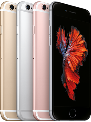 apple iphone 6s in allen farben