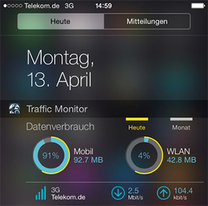 iphone app traffic monitor